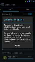 BQ Aquaris 5 HD - Internet - Ver uso de datos - Paso 10