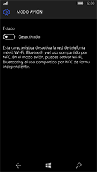 Microsoft Lumia 950 - Red - Activar o desactivar el modo avión - Paso 6