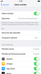 Apple iPhone 6 iOS 11 - Internet - Configurar Internet - Paso 5