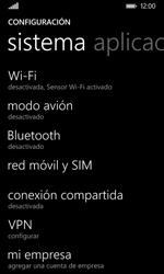 Nokia Lumia 635 - MMS - Configurar el equipo para mensajes multimedia - Paso 4