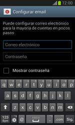 Samsung I8260 Galaxy Core - E-mail - Configurar correo electrónico - Paso 5