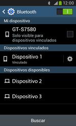 Samsung S7580 Galaxy Trend Plus - Connection - Conectar dispositivos a través de Bluetooth - Paso 8