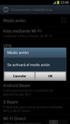 Samsung I9300 Galaxy S III - Red - Activar o desactivar el modo avión - Paso 6
