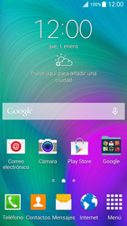 Samsung A500FU Galaxy A5 - Internet - Ver uso de datos - Paso 1