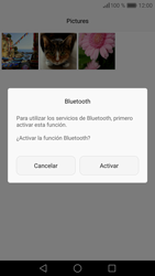 Huawei P9 - Connection - Transferir archivos a través de Bluetooth - Paso 9
