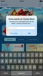 Apple iPhone 6s iOS 10 - Aplicaciones - Descargar aplicaciones - Paso 16