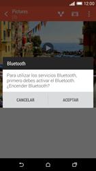 HTC One M8 - Connection - Transferir archivos a través de Bluetooth - Paso 11