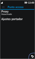 Nokia Asha 311 - Internet - Configurar Internet - Paso 10