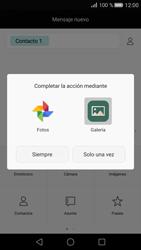 Huawei P8 - MMS - Escribir y enviar un mensaje multimedia - Paso 14