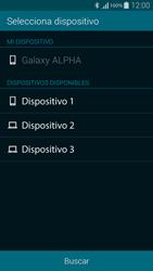 Samsung G850F Galaxy Alpha - Connection - Transferir archivos a través de Bluetooth - Paso 10