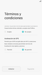 Huawei P8 Lite - Primeros pasos - Activar el equipo - Paso 6