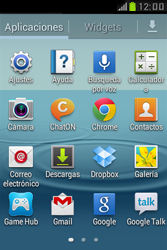 Samsung S6310 Galaxy Young - E-mail - Configurar correo electrónico - Paso 3