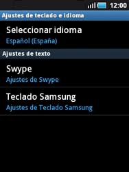 Samsung S5570 Galaxy Mini - Primeros pasos - Activar el equipo - Paso 9
