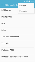 Samsung Galaxy S7 - Internet - Configurar Internet - Paso 15