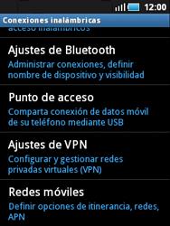 Samsung S5570 Galaxy Mini - Internet - Activar o desactivar la conexión de datos - Paso 5