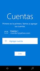 Microsoft Lumia 950 - E-mail - Configurar Yahoo! - Paso 13