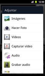 Samsung I8160 Galaxy Ace II - MMS - Escribir y enviar un mensaje multimedia - Paso 12