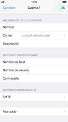 Apple iPhone 6 iOS 11 - E-mail - Configurar correo electrónico - Paso 22