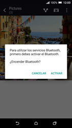 HTC One A9 - Connection - Transferir archivos a través de Bluetooth - Paso 12