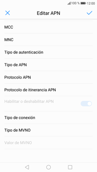 Huawei Mate 9 - MMS - Configurar el equipo para mensajes multimedia - Paso 13