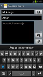 Samsung I9300 Galaxy S III - MMS - Escribir y enviar un mensaje multimedia - Paso 11