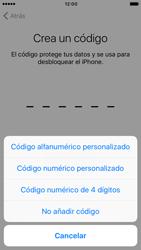 Apple iPhone 6s iOS 10 - Primeros pasos - Activar el equipo - Paso 14