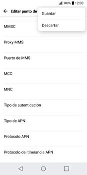 LG Q6 - Internet - Configurar Internet - Paso 15
