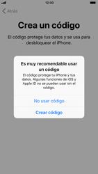 Apple iPhone 6s iOS 11 - Primeros pasos - Activar el equipo - Paso 15