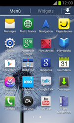 Samsung S7560 Galaxy Trend - MMS - Configurar el equipo para mensajes de texto - Paso 3