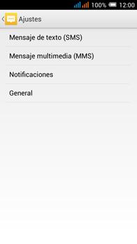 Alcatel Pop C9 - MMS - Configurar el equipo para mensajes de texto - Paso 6