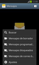 Samsung I8260 Galaxy Core - MMS - Configurar el equipo para mensajes de texto - Paso 5