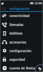 Nokia Asha 311 - MMS - Configurar el equipo para mensajes multimedia - Paso 3