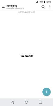 LG Q6 - E-mail - Configurar Yahoo! - Paso 13