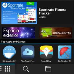 BlackBerry Q5 - Aplicaciones - Tienda de aplicaciones - Paso 3