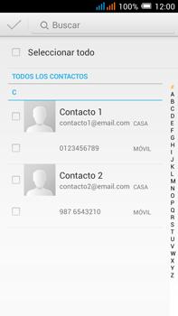 Alcatel Pop C9 - MMS - Escribir y enviar un mensaje multimedia - Paso 6
