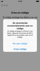 Apple iPhone SE - iOS 11 - Primeros pasos - Activar el equipo - Paso 15