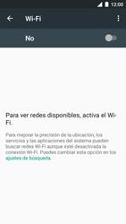 BQ Aquaris U - WiFi - Conectarse a una red WiFi - Paso 5