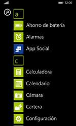 Nokia Lumia 635 - Red - Activar o desactivar el modo avión - Paso 3