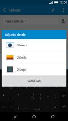HTC One M8 - MMS - Escribir y enviar un mensaje multimedia - Paso 15