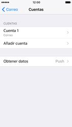 Apple iPhone SE - iOS 10 - E-mail - Configurar correo electrónico - Paso 16
