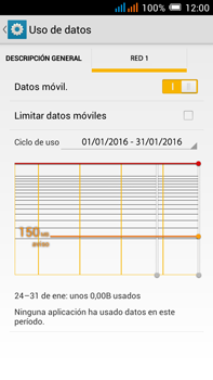 Alcatel Pop C9 - Internet - Configurar Internet - Paso 6