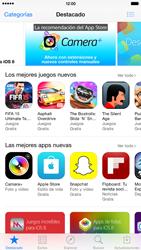 Apple iPhone 6 Plus iOS 8 - Aplicaciones - Tienda de aplicaciones - Paso 4