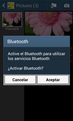 Samsung S7580 Galaxy Trend Plus - Connection - Transferir archivos a través de Bluetooth - Paso 11