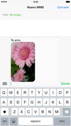 Apple iPhone 6 Plus iOS 8 - MMS - Escribir y enviar un mensaje multimedia - Paso 13