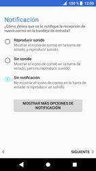 Sony Xperia XZ1 - E-mail - Configurar correo electrónico - Paso 22