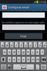 Samsung S6310 Galaxy Young - E-mail - Configurar correo electrónico - Paso 22
