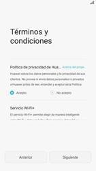 Huawei P8 - Primeros pasos - Activar el equipo - Paso 6