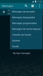 Samsung G900F Galaxy S5 - MMS - Configurar el equipo para mensajes de texto - Paso 5