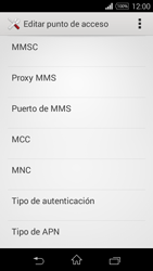 Sony D2203 Xperia E3 - MMS - Configurar el equipo para mensajes multimedia - Paso 14