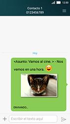 Huawei Y5 - MMS - Escribir y enviar un mensaje multimedia - Paso 18